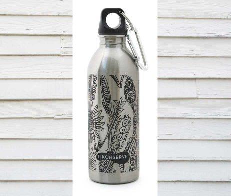 U Konserve Bottle Wild Leaves