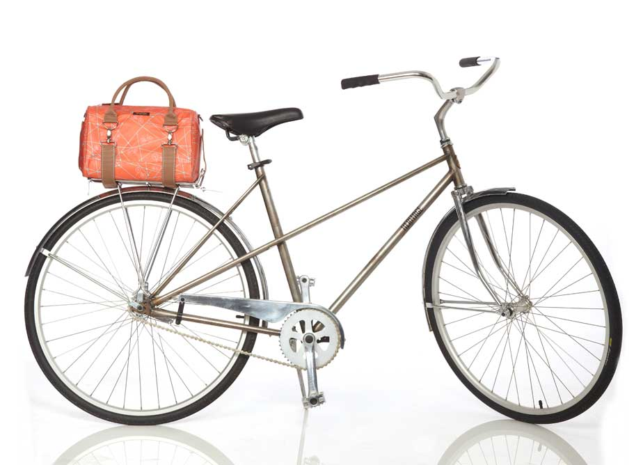 Po Campo Logan Tote on Bike