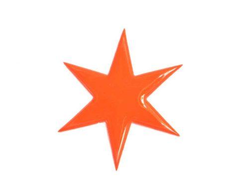 Star Pin Orange