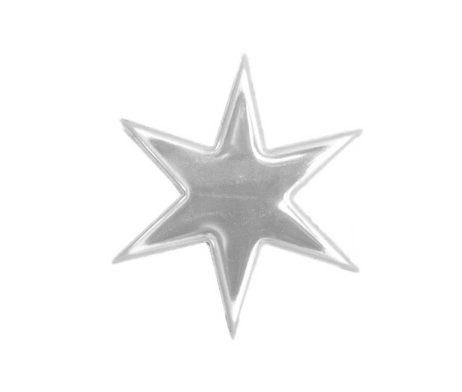 Star Pin White