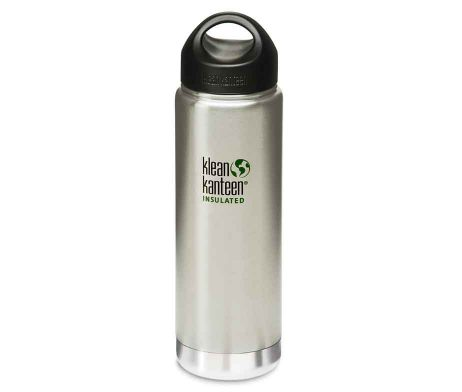 Klean Kanteen Vacuum Flask 20 oz Brushed