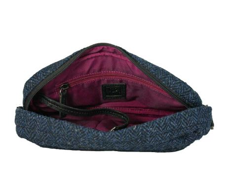 BRYHT Dart Handlebar Bag in Harris Tweed - Lining