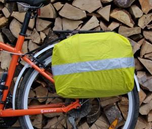 BRYHT Lydden Bike Pannier Briefcase Raincover