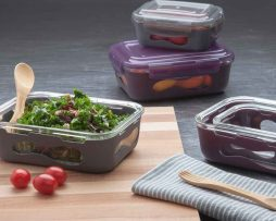 U-Konserve Glass Rectangle Food Containers