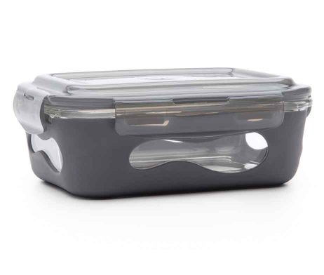 U-Konserve Glass Rectangle Food Container - Slate
