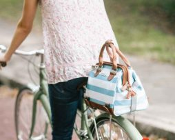 Po Campo Uptown Rear Rack Bike Tote